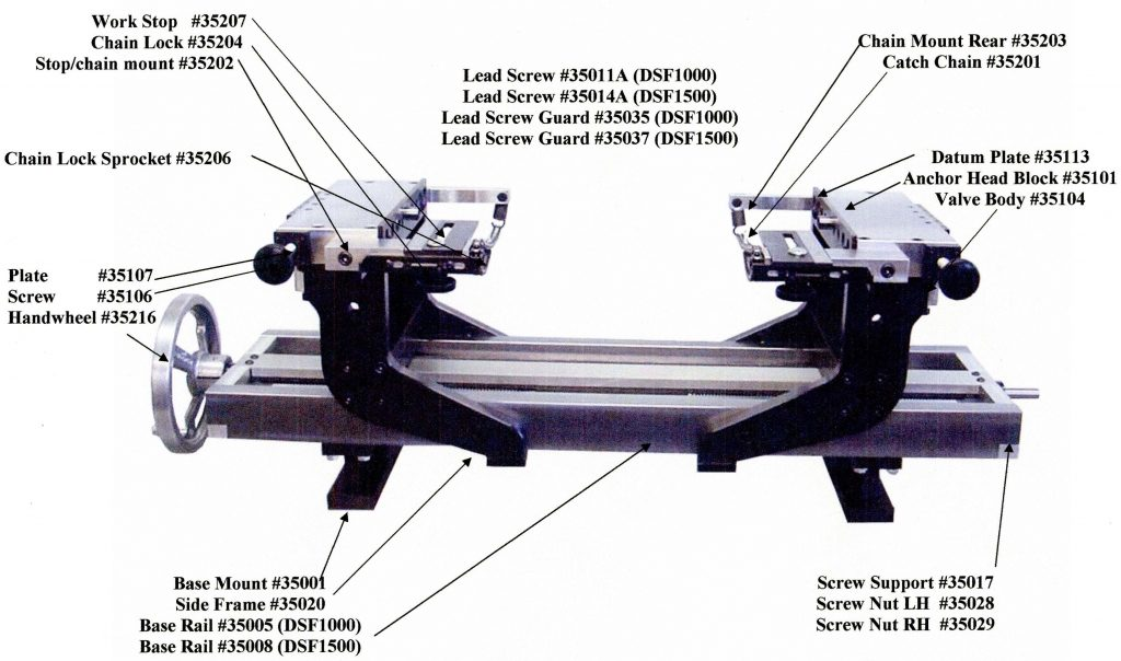 DSF1000/1500 Chassis Breakdown