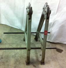 Stuhr Static Wheel Balancer