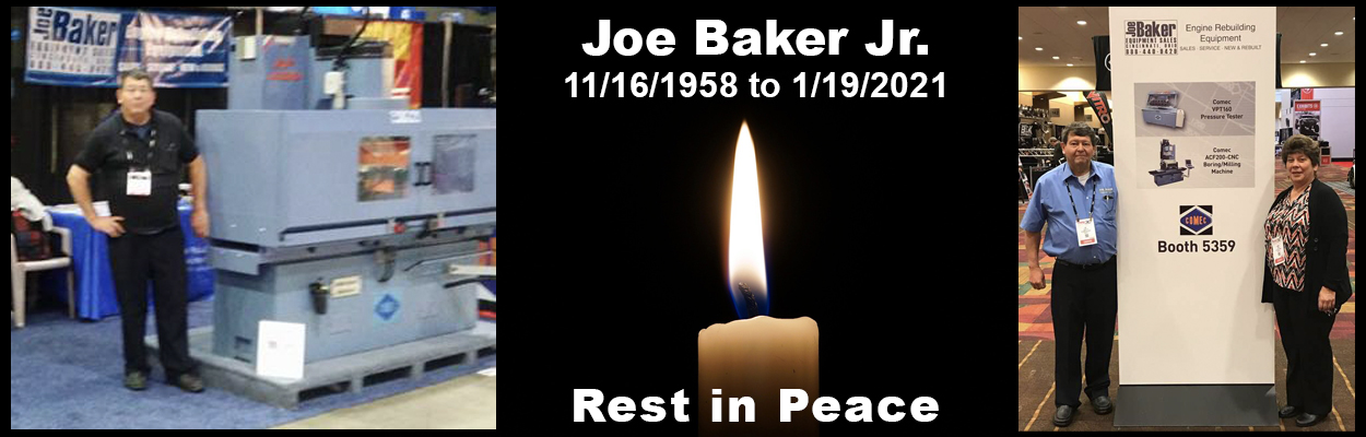 Rest In Peace Joe Baker Jr